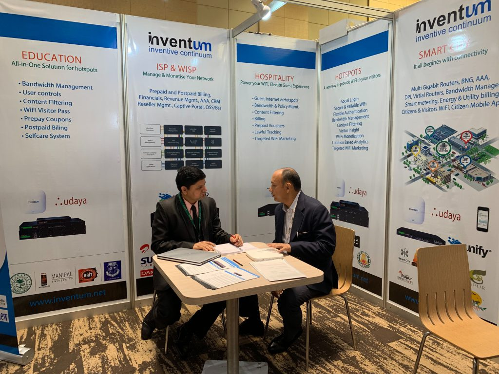Inventum Booth at India Africa ICR 2019